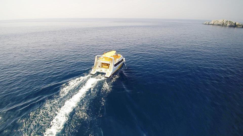 26-Catamarán Boatdil en Puerto Marina del Este