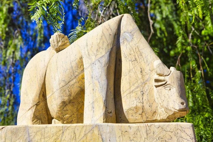 Parque como Jardín de Esculturas