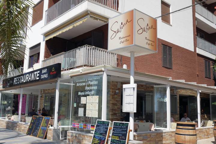 restaurante sabina fachada