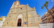 Fachada Iglesia de la Encanación Almuñécar